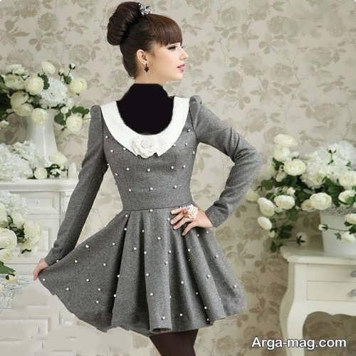 لباس مجلسی تماشایی برای نوجوان دختر