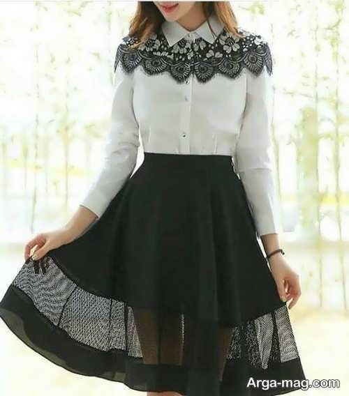 لباس مجلسی دخترانه ایده آل