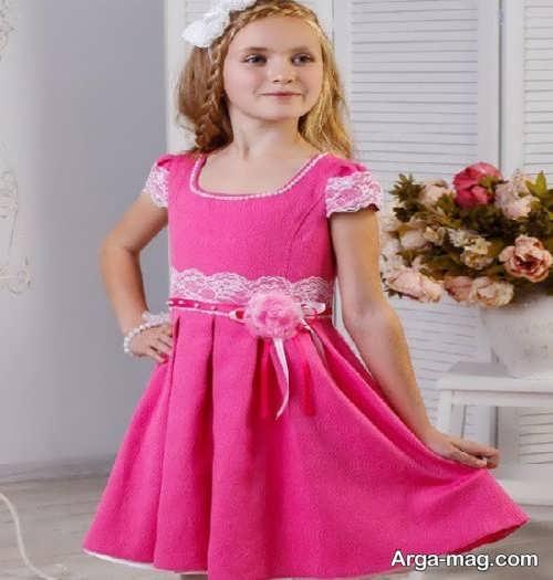 لباس مجلسی دخترانه خوش رنگ