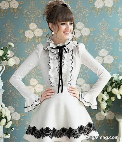 لباس مجلسی جدید برای نوجوان دختر