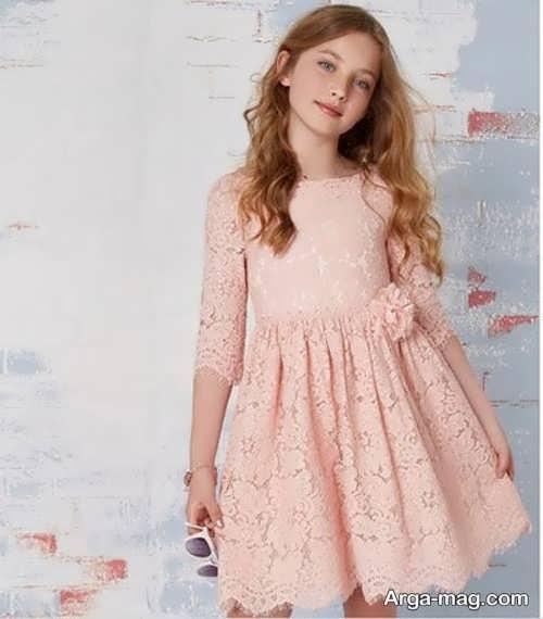 لباس مجلسی منحصر به فرد برای نوجوان دختر