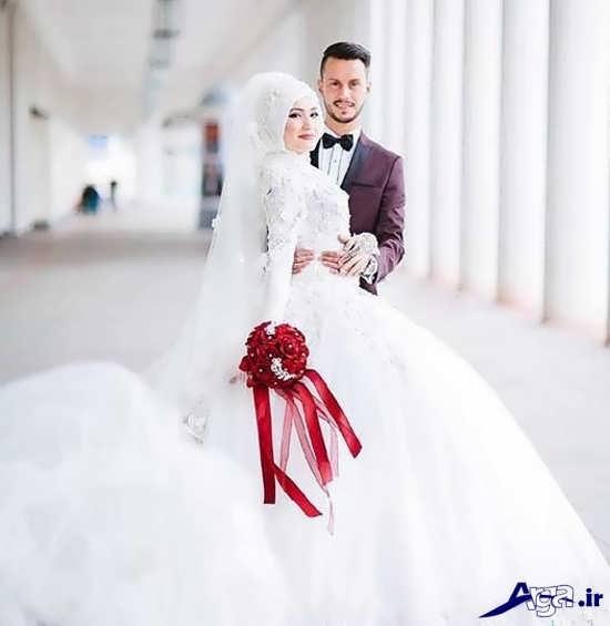 ژست عکس های آتلیه ایی عروس و داماد