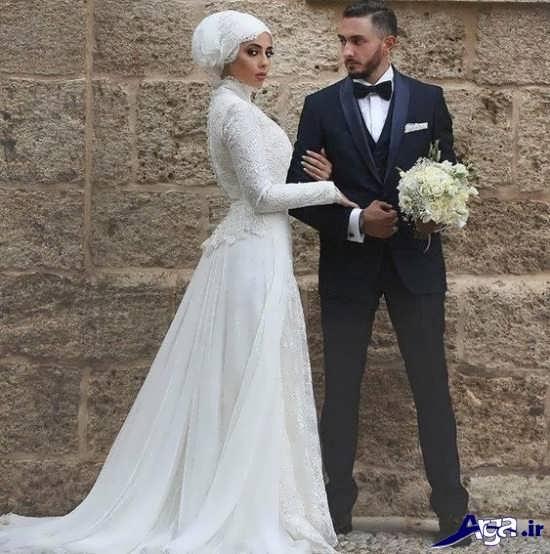 عکس اتلیه ایی بسیار زیبا از عروس و داماد