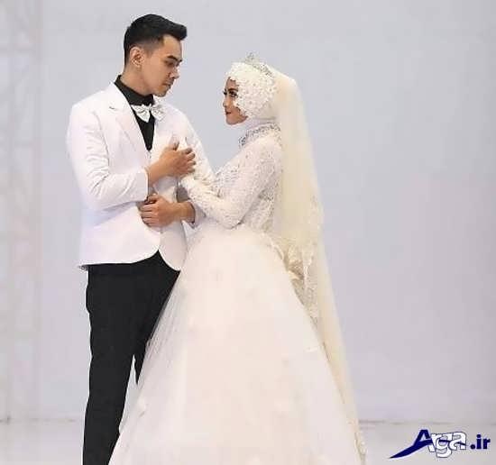 ژست برای عکس های عروس و داماد
