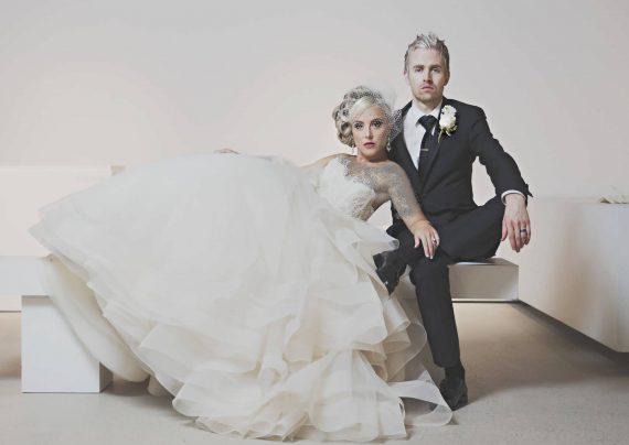 ژست آتلیه عروس و داماد