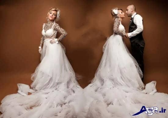 عکس عروس و داماد در آتلیه