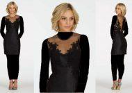 مدل لباس مجلسی کوتاه زنانه با طرح های شیک و زیبا