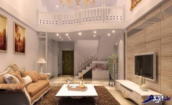 دکوراسیون داخلی جدید خانه های دوبلکس