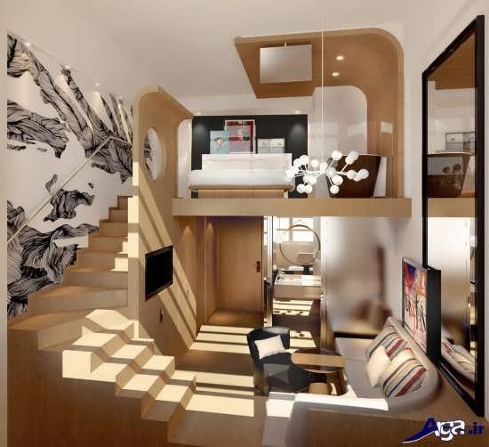 طرح جدید و زیبای دکوراسیون خانه دوبلکس