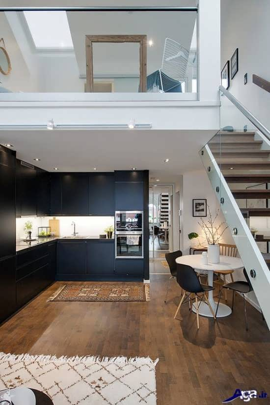طراحی داخلی دکوراسیون خانه دوبلکس