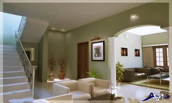 دکوراسیون زیبای خانه دوبلکس