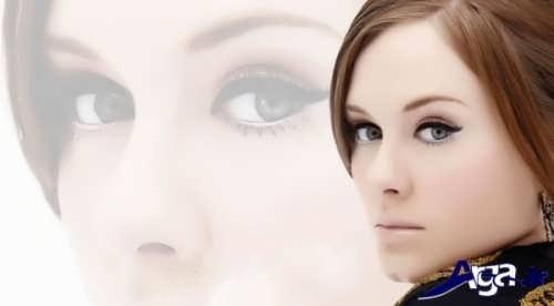 مدل آرایش صورت شیک