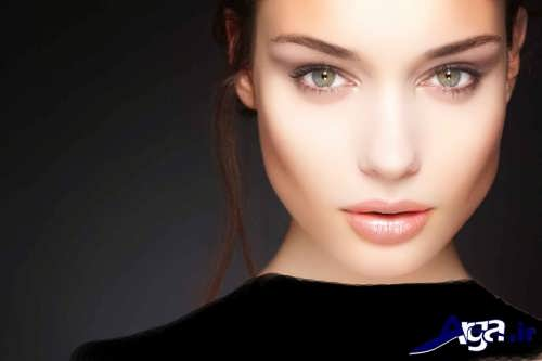 مدل آرایش صورت لایت زنانه