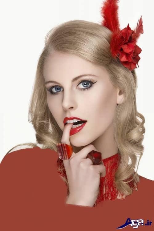 مدل آرایش زنانه شیک و زیبا
