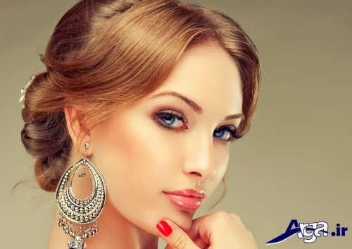 مدل آرایش صورت زیبا و شیک زنانه
