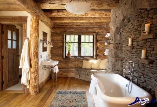 دکوراسیون روستیک در طراحی داخلی منازل مسکونی