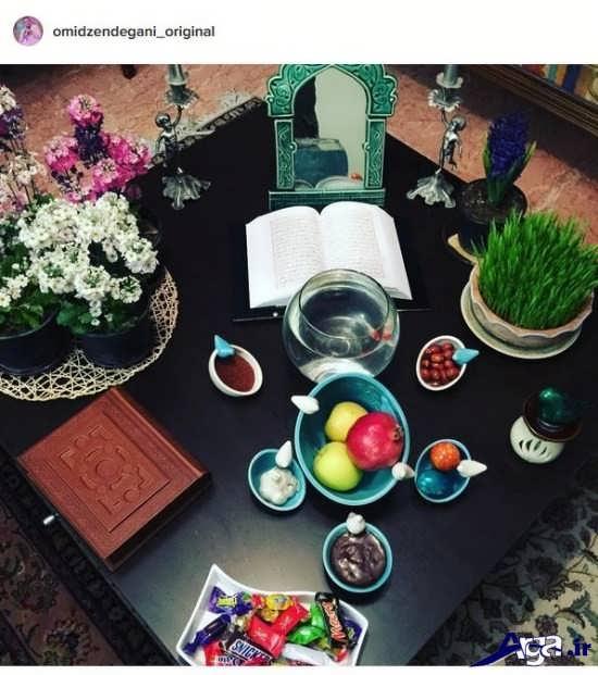 عکس هفت سین بازیگران ایرانی