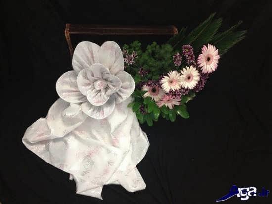 تزیین شیک و زیبای چادر عروس