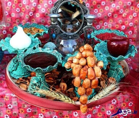 تزیین سنجد زیبا برای هفت سین