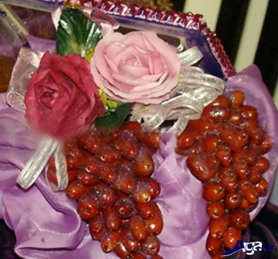 تزیین زیبای سنجد برای هفت سین