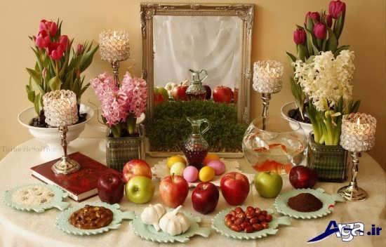تزیینات هفت سین برای عروس و داماد