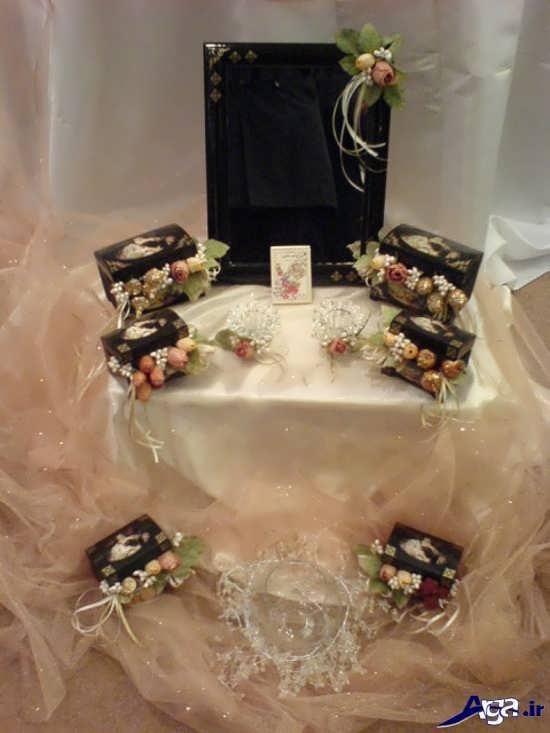 مدل سفره هفت سین زیبا برای عروس