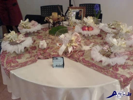 مدل سفره هفت سین عروس جدید