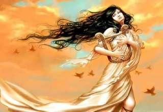 عکس دختر کارتونی و فانتزی زیبا