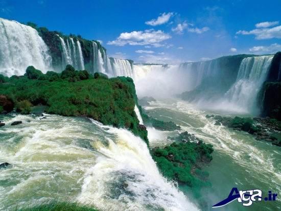 عکس آبشارهای زیبا