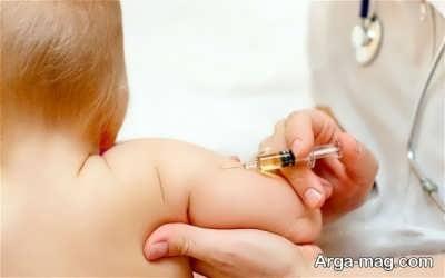 مراقبت های لازم بعد از تزریق واکسن چهار ماهگی نوزاد
