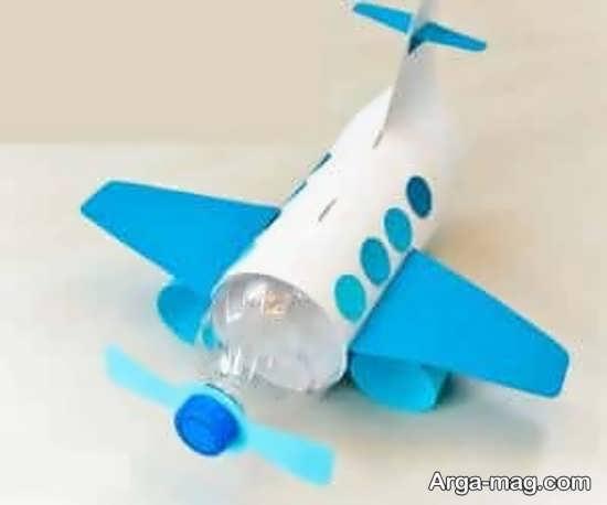 خلاقیت هواپیما کودکانه