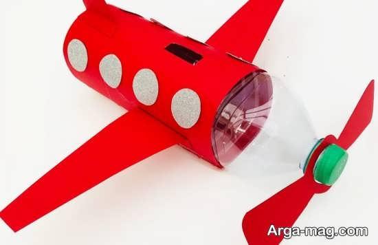 خلاقیت هواپیما با بطری