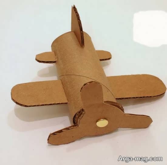 خلاقیت هواپیما با مقوا