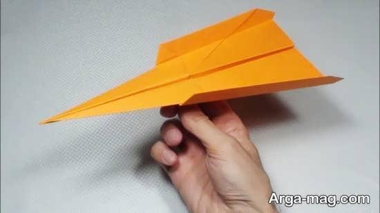 خلاقیت هواپیما با کاغذ