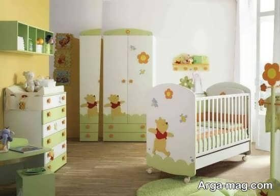جدیدترین مدل تخت و کمد نوزادان