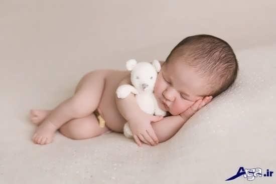 مدل های زیبای ژست عکس نوزاد