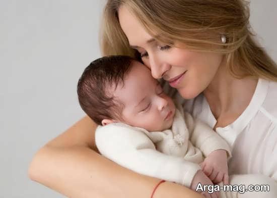 انواع ژست عکس نوزادان