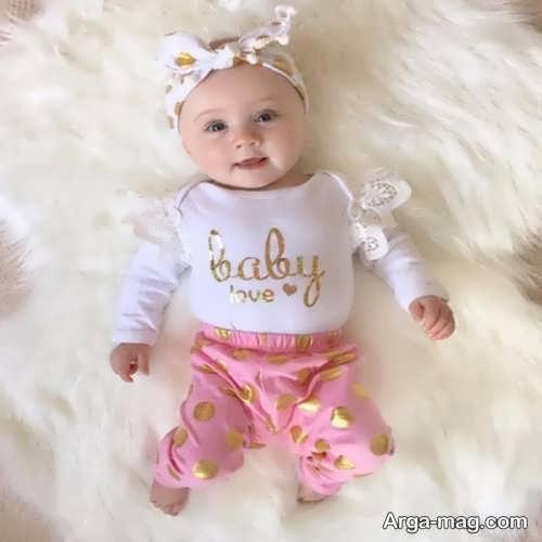 لباس تابستانه نوزاد شیک