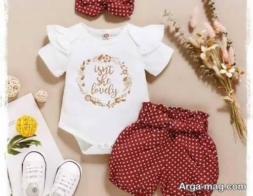 لباس تابستانی نوزاد پسر