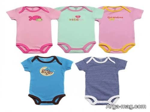 لباس تابستانی نوزادان