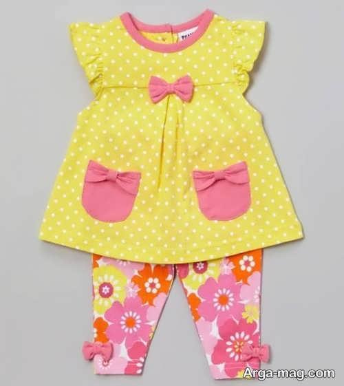 انواع لباس تابستانه نوزاد