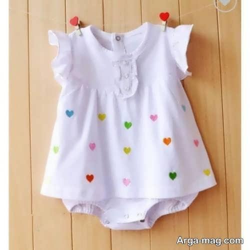 لباس تابستانه نوزاد دختر