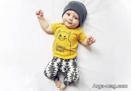 لباس تابستانی نوزادان پسر
