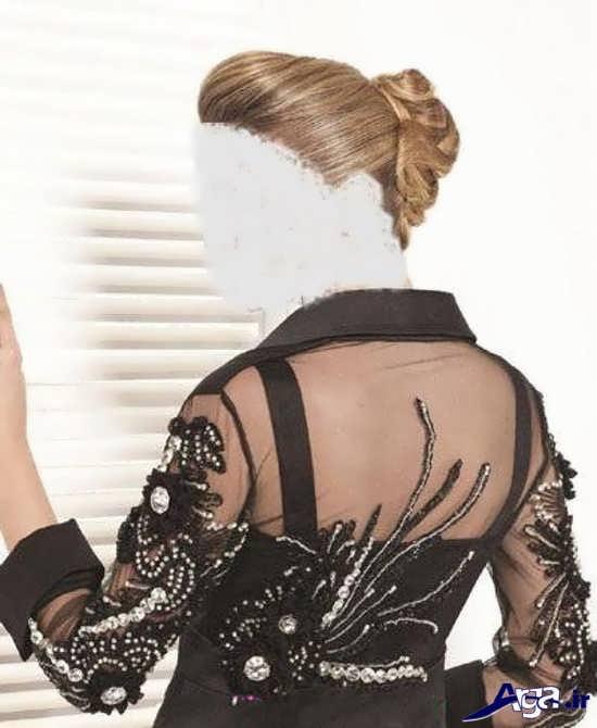 مدل های سال۹۶ مدل های منجوق دوزی و پولک دوزی روی لباس و پارچه های متفاوت ...