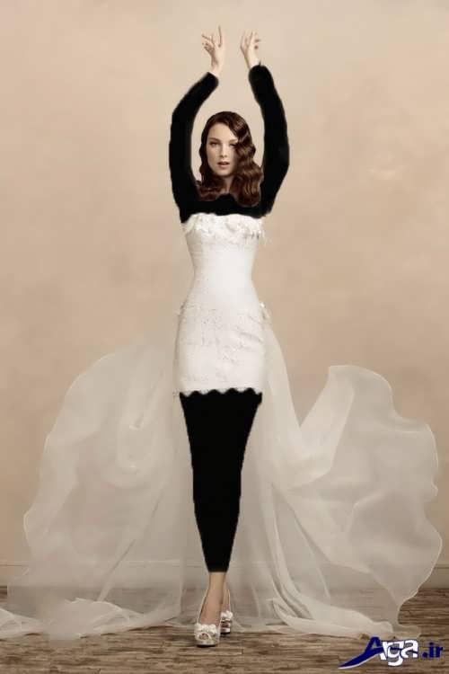 مدل زیبا و متفاوت لباس عروس