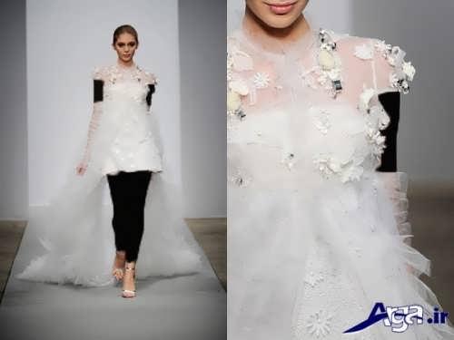 مدل لباس عروس کوتاه و شیک