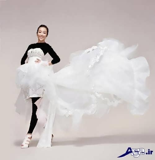 مدل لباس عروس کوتاه شیک و زیبا
