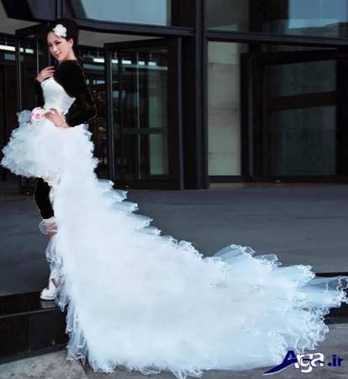 مدل لباس عروس شیک کوتاه