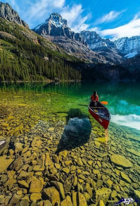 عکس منظره زیبا در کانادا