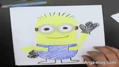 تصاویری از آموزش نقاشی انیمیشنی